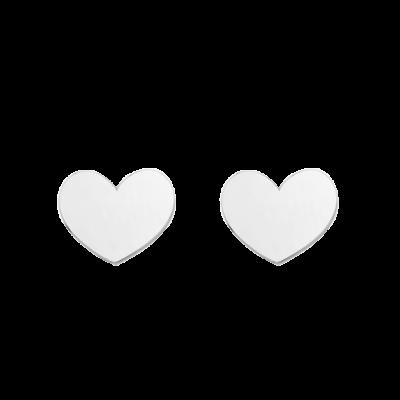 pendientes corazones