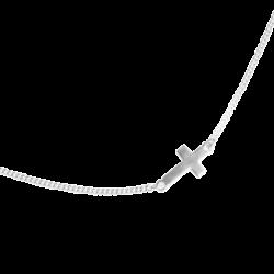gargantilla-cruz-pequeña-plata
